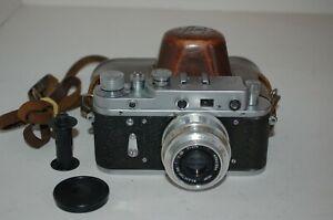 Zorki-2C RARE Vintage 1959 Soviet Rangefinder Camera & Lens. 59908568. UK Sale