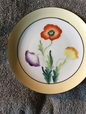Mieto Hand Painted Floral Plates(2)