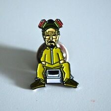 Breaking Bad 'Heisenberg' Pin Badge A Guy Called Minty & Rosso Bianco Nero 1878.