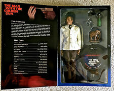 "JAMES BOND 007 ROGER MOORE THE MAN WITH THE GOLDEN GUN 12"" FIGURE MIB"