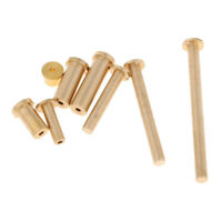 8pcs Golf Shaft Tip Weight 8Pcs Brass Plug Weights for Wood and Iron Shafts