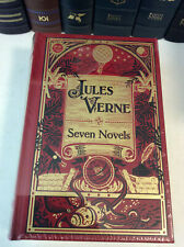 Seven Novels of Jules Verne - leatherbound - NEW - ships in a box