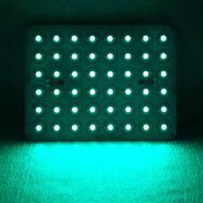48W Cyan Royal Blue 450nm~470nm~500nm LED Lamp Light Bulb +Driver Plant Aquarium