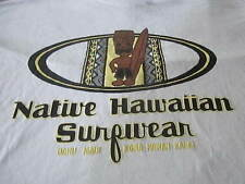 NATIVE HAWAIIAN COOL TIKI MAN SURF SHIRT