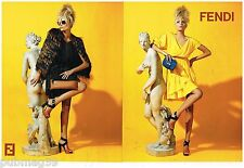 Publicité Advertising 2012 (2 pages) Haute Couture Fendi