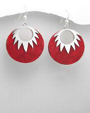 Elegant coral earrings Womens jewellery
