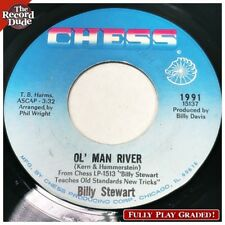 """BILLY STEWART """"Ol' Man River / ... The Blues"""" CHESS northern soul NICE sound 45"""