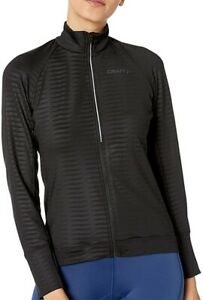 Craft Velo Thermal 2.0 Long Sleeve Womens Cycling Jersey - Black