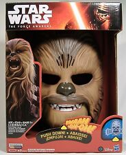STAR WARS CHEWBACCA ELECTRONIC SOUNDS MASK THE FORCE AWAKENS BRAND NEW SOLD OUT