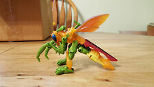 Transformers Beast Wars Fuzors Buzzclaw Complete with Card Hasbro 1996