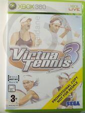!!! XBOX 360 SPIEL Virtua Tennis 3 ohne Anl., gebraucht aber GUT !!!