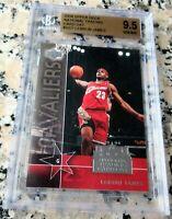 LEBRON JAMES 2003 2004 UD #1 Draft Pick Rookie Card RC BGS 9.5 10 MVP Lakers $$$