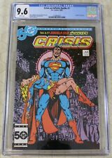 CRISIS ON THE INFINITE EARTHS (1985) #7  CGC 9.6 Death of Supergirl (DC Comics)!