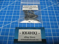 250V 2.2uF Radial Electrolytic Capacitors - Imported - 20 Pieces