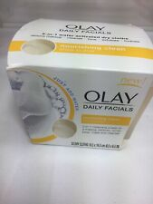 OLAY Daily Facial Nourishing Clean Shea Butter 33 Dry Cloths Water Activated