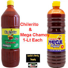 2x Mexican Hot Sauce Chilerito & Mega Chamoy 2-L bottle total (64-oz) Deal