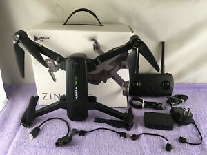 Hubsan Zino Pro Folding Quadcopter Drone, 4K FPV Camera (H117P) - Black - USED