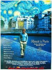 MINUIT A PARIS Affiche Cinéma / Movie Poster WOODY ALLEN & MARION COTILLARD
