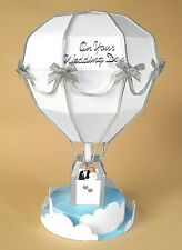 A4 Card Making Templates for 3D Hot Air Balloon & Display Box by Card Carousel