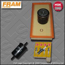 SERVICE KIT PEUGEOT 406 PHASE 2 2.0 16V EW10J4 OIL AIR FUEL FILTER PLUGS (99-04)