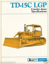 Equipment Brochure - International Hough Dresser - Td-15C Lgp Dozer 1984 (Eb407)