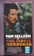 Movie Murderer VHS. TOM SELLECK FIRST MOVIE! Sealed! RARE!!