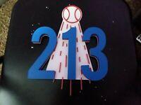 """LA DODGERS 213 SIGN PLAQUE-3D printed 12""""×11""""×1.25"""" 3D Printed Logo sign"""