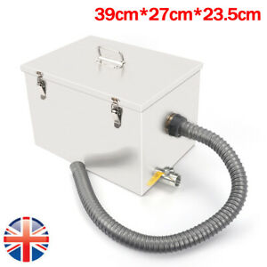 Large Stainless Steel Grease Trap Interceptor Oil Water Separator Set Commercial