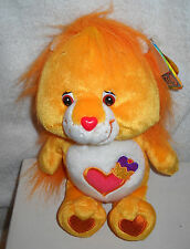 "#5948  NWT Play A Long Care Bears Cousins Brave Heart Lion 8"" Collector Edition"