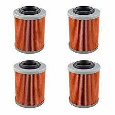 4-Pack Oil Filter Filters for Can-Am UTV Commander Maverick 800 1000 All Models