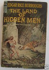 Paperback Sci Fi The Land Of Hidden Men Edgar Rice Burroughs