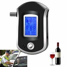 Portable Smart Breath Alcohol Tester Digital LCD Breathalyzer Analyzer