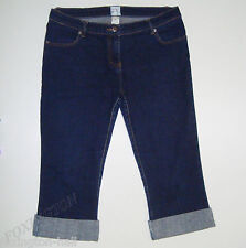 BEAUTIFUL SASS&BIDE DARK BLUE RINSE CUFFED DENIM JEANS size 32
