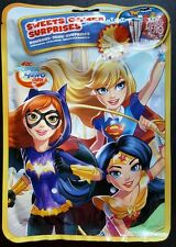 10 SUPER HERO GIRLS Batgirl supergirl wonderwoman party bag filler surprises lot