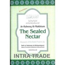 Ar-Raheeq Al-Makhtum The Sealed Nectar 6x9 Prophet's (SAW) Biography Life Seerah