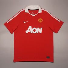 Manchester United 2010 2011 Home Football Soccer Shirt Jersey Nike Camiseta Kit