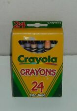 1999 Complete Box 24 Crayola Crayons Australia Distributed Made Usa Minor Use