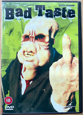 Bad Taste DVD 1987 Peter Jackson Cult New Zealand Horror Movie Classic