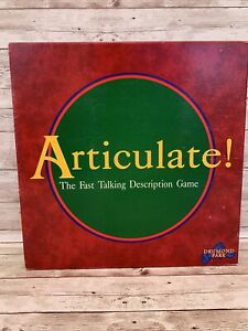 ARTICULATE! Fast Talking Description Board Game 1998 By Drumond Park Complete