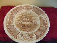 """Fair Winds Historical"" Hors d'oeuvre serving plate 10 3/4"""