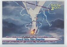 2000 Topps Pokemon Movie #58 Down Into The Depths Card g6w