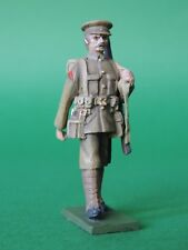 54mm Metal Toy Soldier - WW1 - Marching - Peak Cap - Slung Rifle LMS2