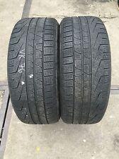 2*Winterreifen 245/45 R18 100V Pirelli Sottozero Winter 240 Serie2 RSC DOT12 5mm