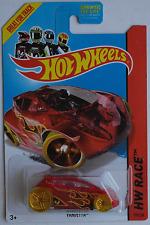 Hot Wheels - Vandetta rot transparent Neu/OVP US-Card