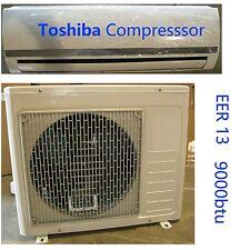 9000 BTU Ductless Mini Split Air Conditioner and Heat Pump 13 EER 110 VOLT