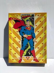 1989 Superman 100-piece Golden Puzzle