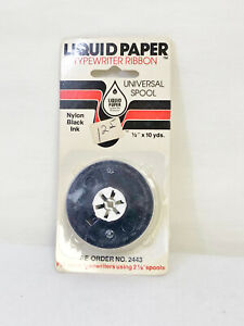VINTAGE LIQUID PAPER TYPEWRITER RIBBON - No. 2443 - NEW OLD STOCK - 1979