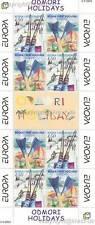 Europa CEPT 2004 vacanze-Bosnia croato 129-30 piccoli archi **