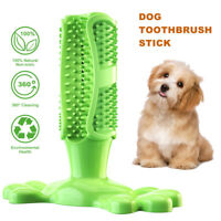 Dog Toothbrush Toy Clean Teeth Brushing Stick Pet Brush Mouth Chewing Cleaning