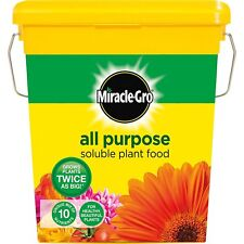 Miracle-Gro All Purpose Soluble Grows Garden Plant Food Tub 2 Kg Lawn Fertiliser